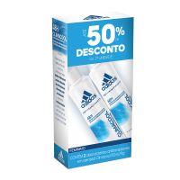 Kit Desodorante Aerossol Adidas Climacool Feminino 150ml